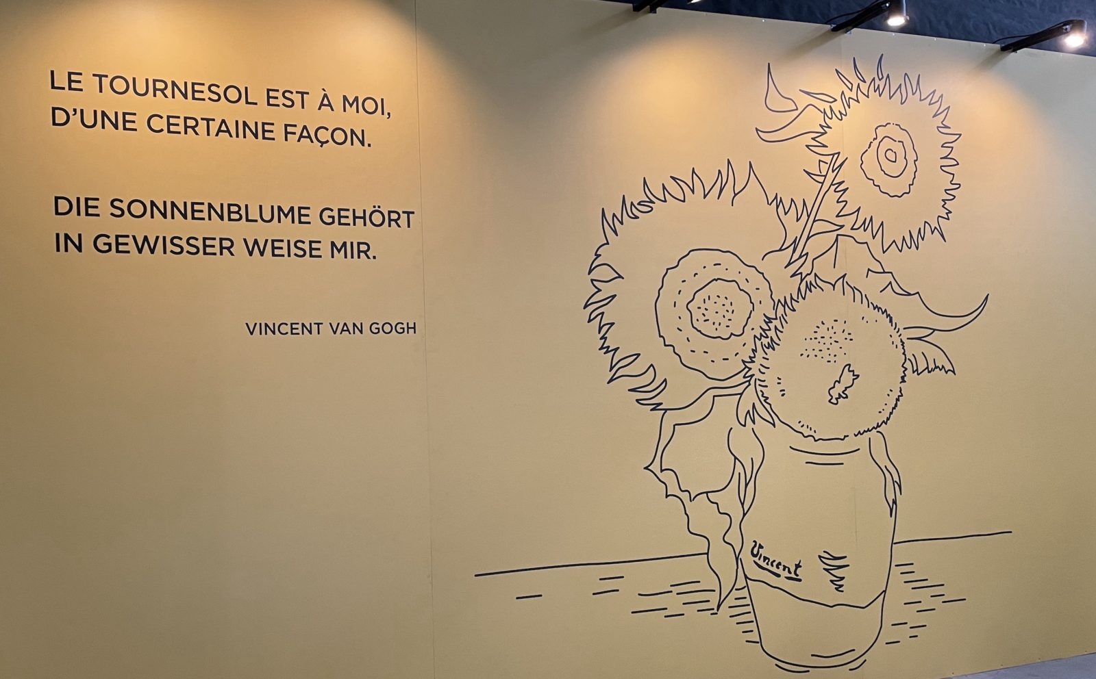 Van Gogh Alive Vue - tournesol