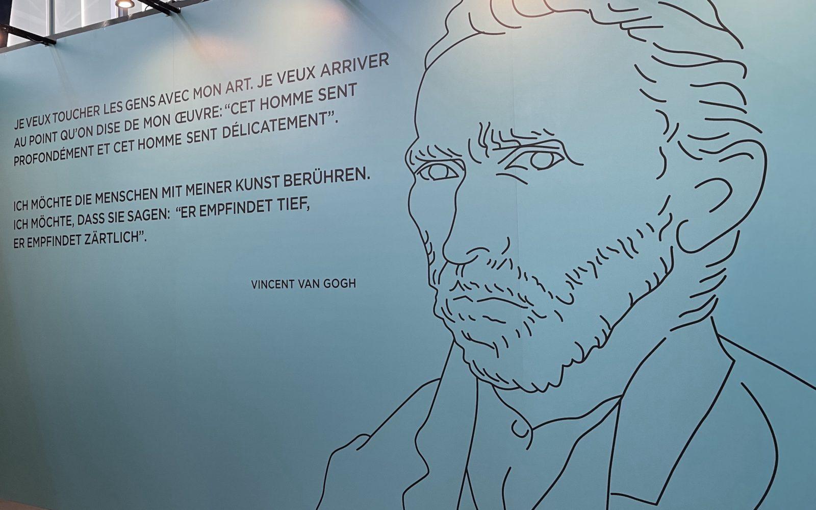 Van Gogh Alive Vue portrait