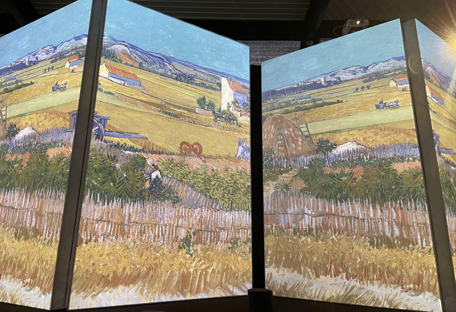 Van Gogh Alive La moisson