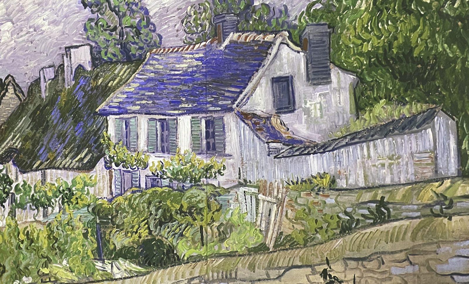 Van Gogh Alive  maison à auvers sur oise