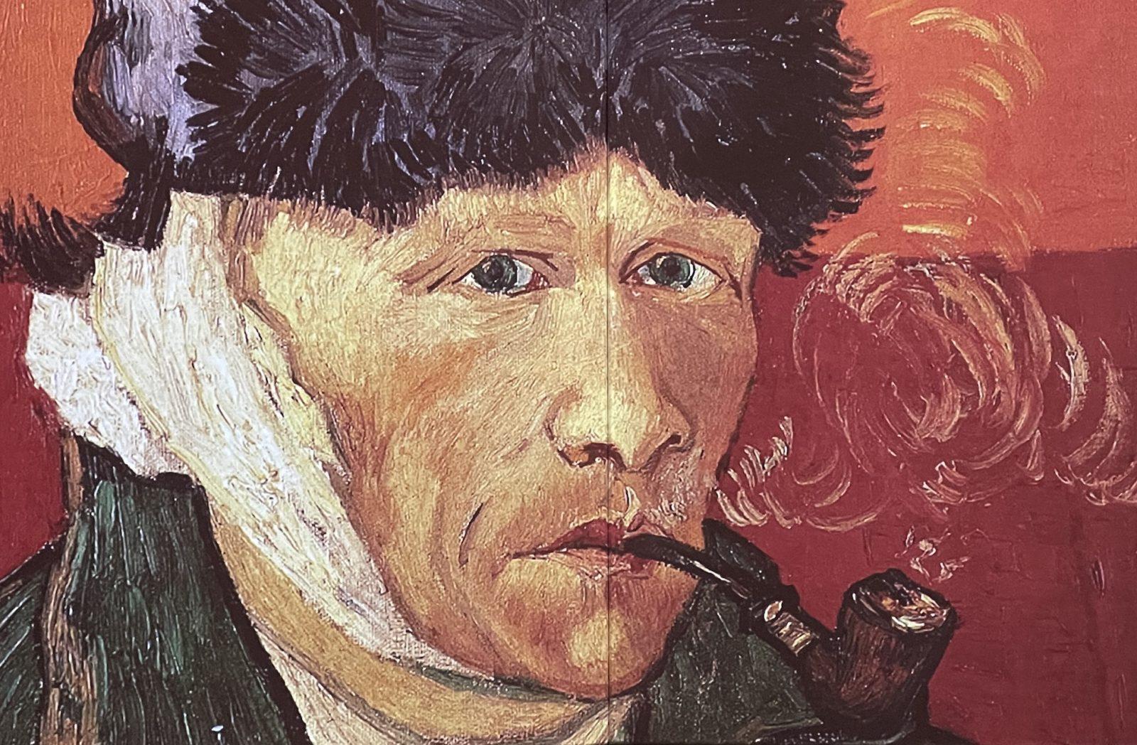 Van Gogh  Alive autoportrait à l'oreille coupée