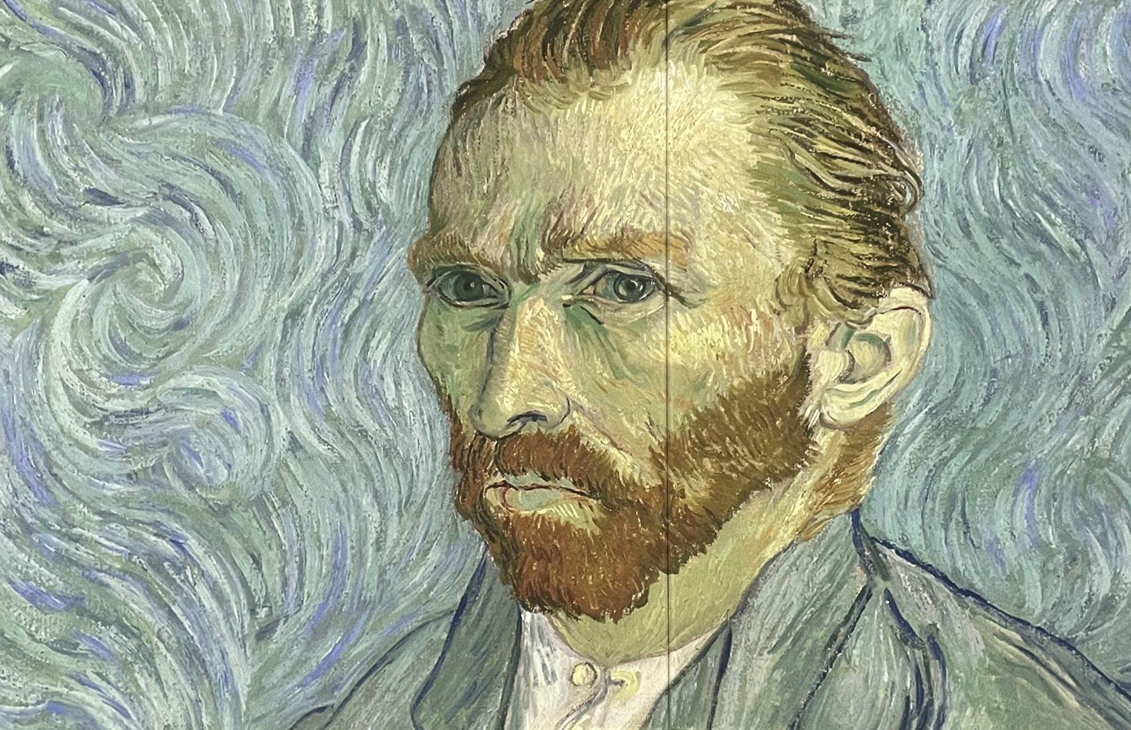 Van Gogh  Alive autoportrait 1889