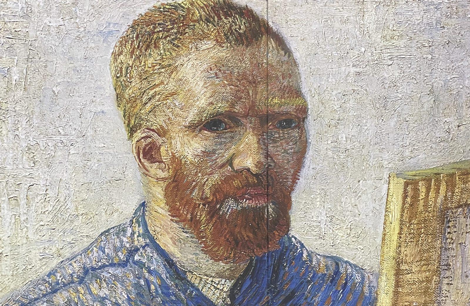 Van Gogh  Alive autoportrait en peintre