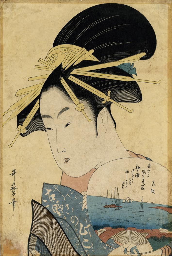 Kitagawa Utamaro La Courtisane Konosumi,